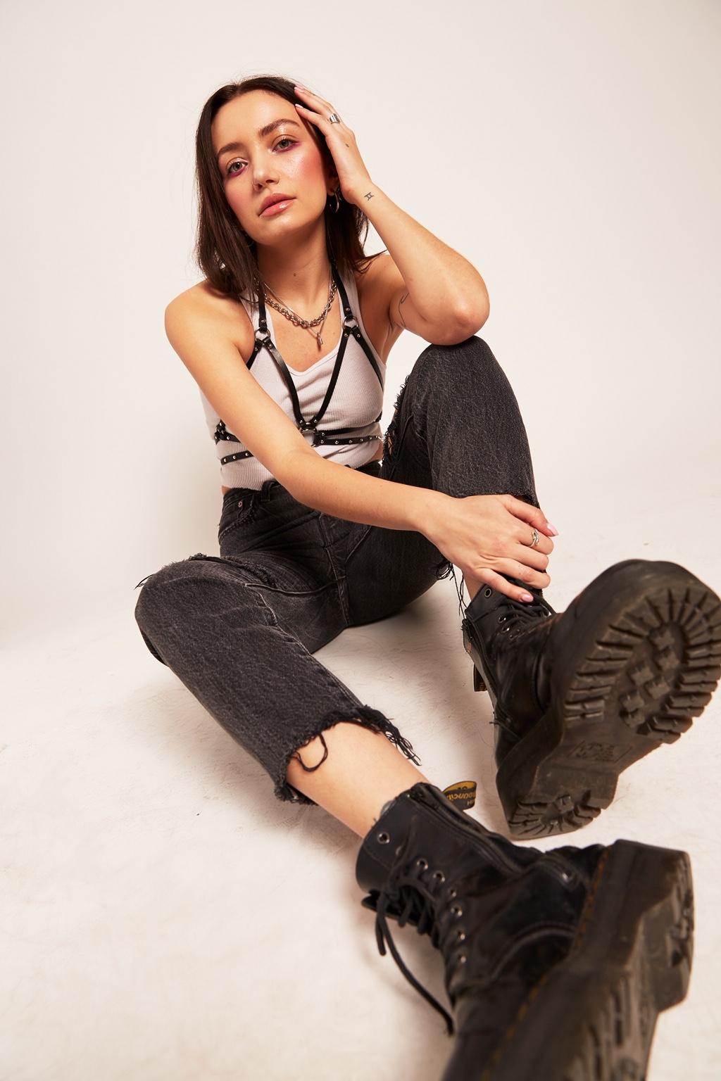 Photographer: Sergio Necoechea | Model: Cristina LaFornara | Makeup by Ashley Tani