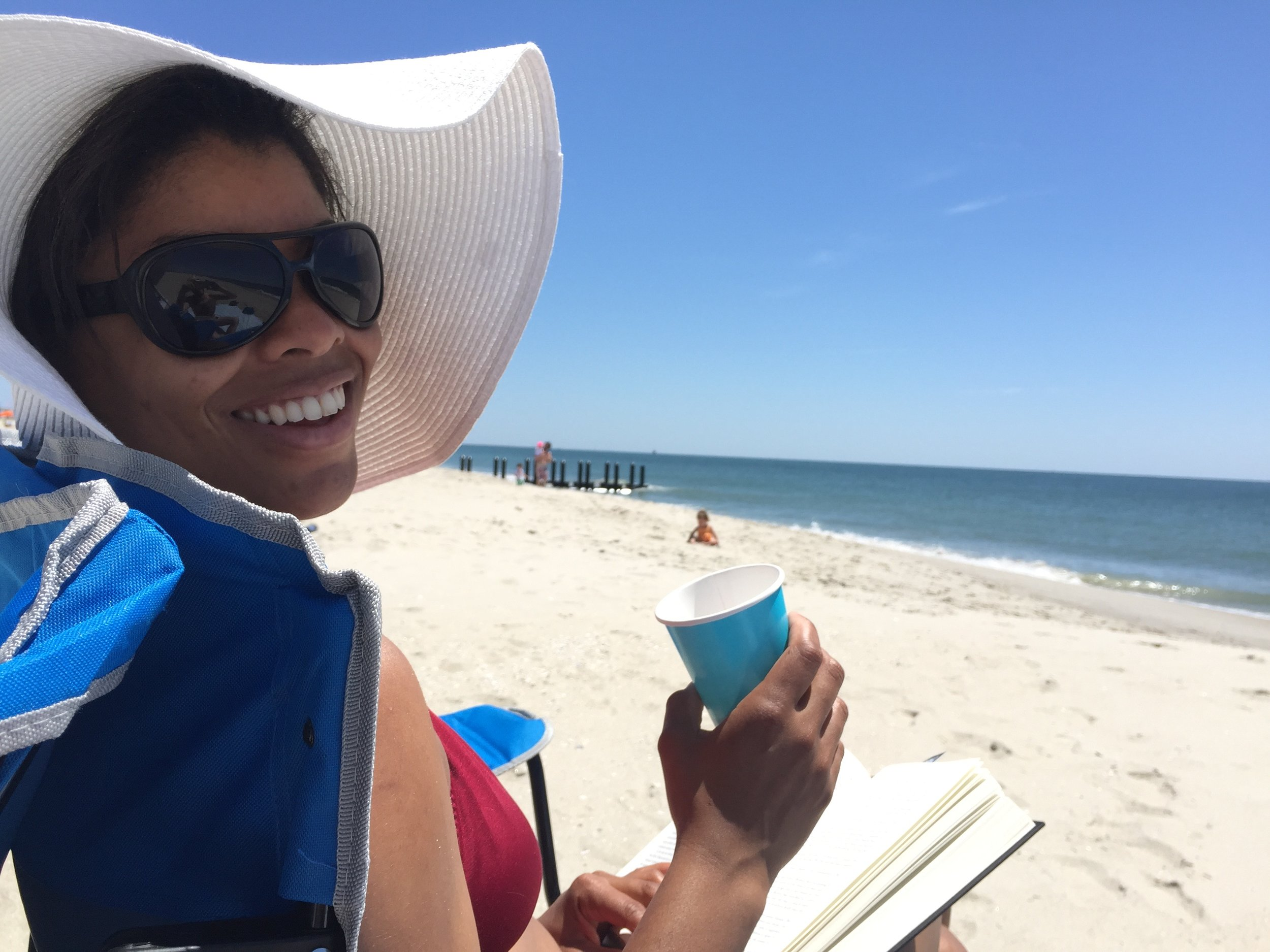 Cape May Beach Day