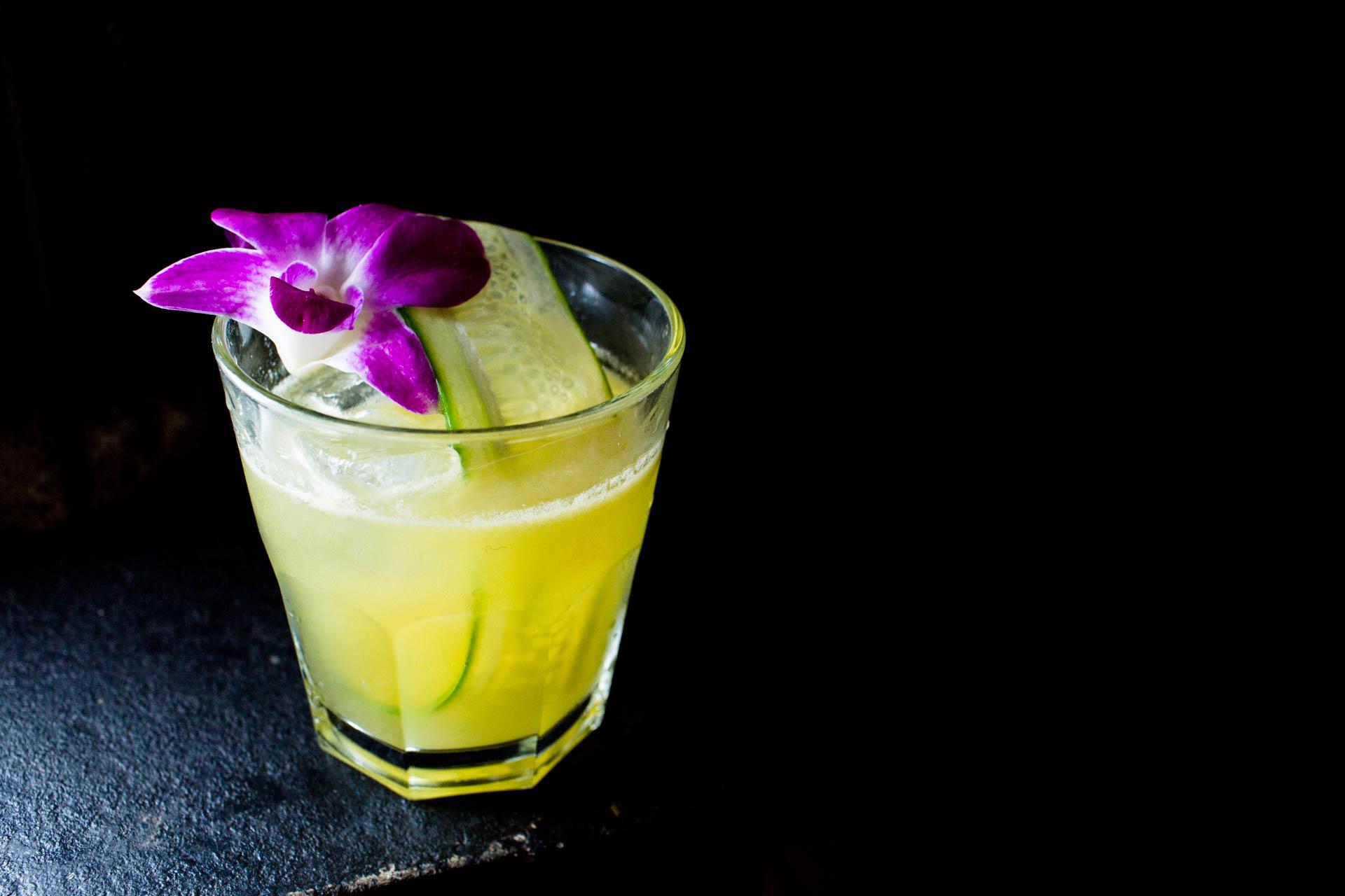 Beautiful drink at Sunken Harbor Club