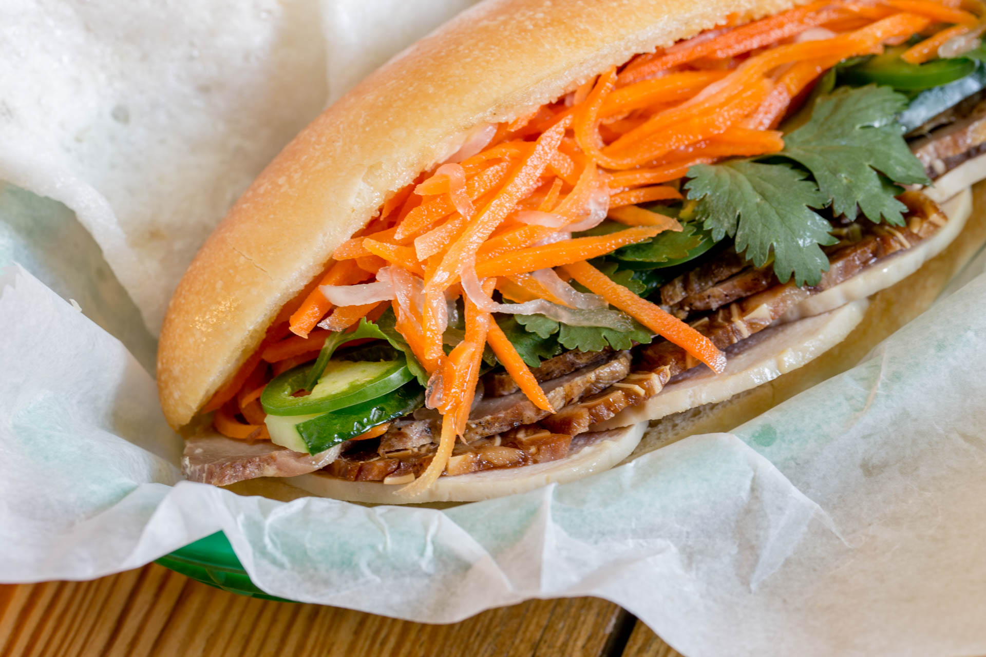 What to do with a Bahn Mi?