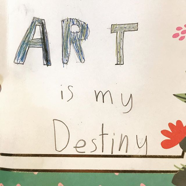 #artismydestiny #art #childartist #artcamp #demandmoreart #iloveart #artschool #montessori