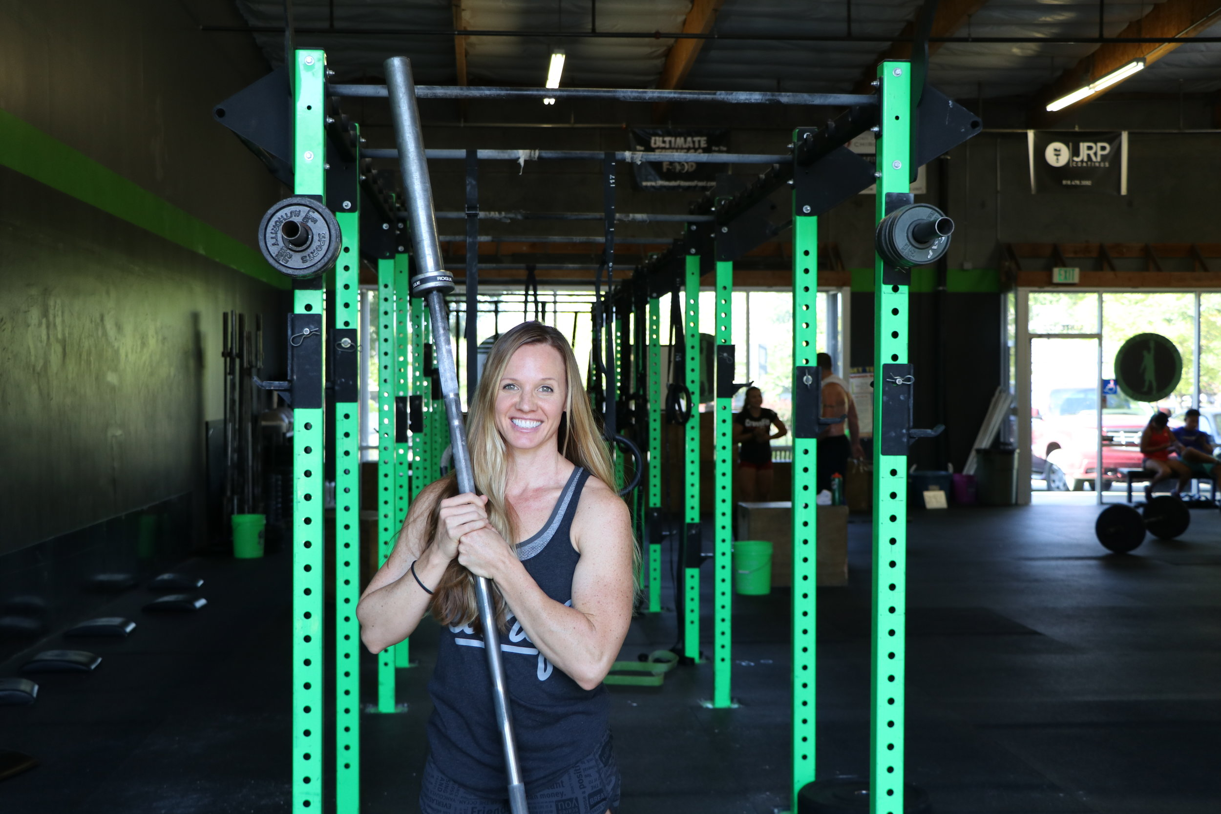 "STACIA RAGAN Coach   Stacia's a Coach at El Dorado Hills CrossFit and a former competitive gymnast and swimmer. ""I was in my third season of triathlon training when I started CrossFit. I enjoyed it so much that I left triathlons and began focusing on CrossFit full-time. It allowed me to utilize my gymnastics skills on a daily basis.""  ""As a coach, I'm passionate about teaching people how to move safely. I'm also dedicated to introducing skills they can use in their everyday lives. I believe the principles of CrossFit are applicable both in and outside of the gym.""  CERTIFICATIONS: CrossFit Level 1"