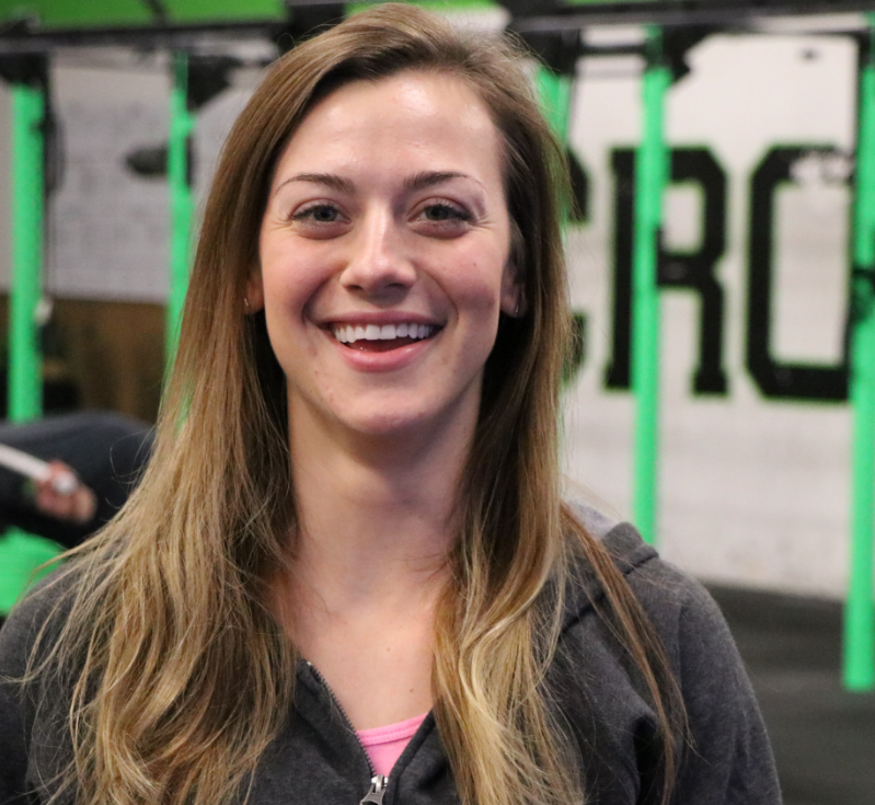 """KATIE BUCKNER Coach   Katie is a Coach at El Dorado Hills CrossFit. For years, she played soccer and softball but didn't consider herself a definitive athlete until CrossFit. """"I started training in my native Ohio and began traveling for work through multiple states. After experiencing different CrossFit gyms, I've found that there are multiple ways to learn and teach its methodology. If my coaching can reach and help others, I'm a happy gal."""" Katie believes CrossFit is an incredible way to get fit and can benefit you in more ways than one.  CERTIFICATIONS: CrossFit Level 1"""