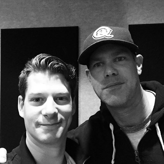 Fantastic interview with Jake Query at the @iheartradio studios in Indy. Lots to talk about with the NEW album dropping on Nov. 5th and this year's Rock-it To A Cure concert. It's such a cool thing to take new music and pair it with raising money for the Caroline Symmes Endowment. #song #songwriter #studiolife #studio #producerlife #producer #newmusic #charity #cancersucks #radio #interview #music