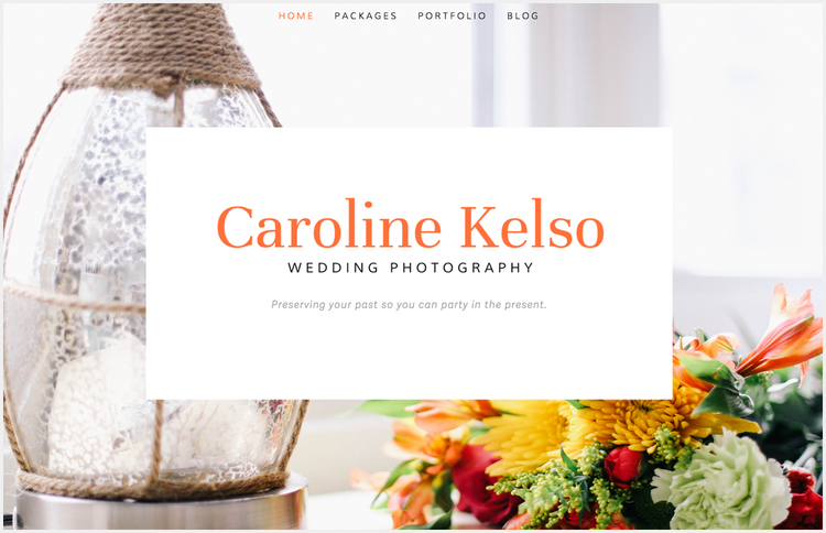 Creating a logo without Photoshop and mocking it up on a Squarespace website