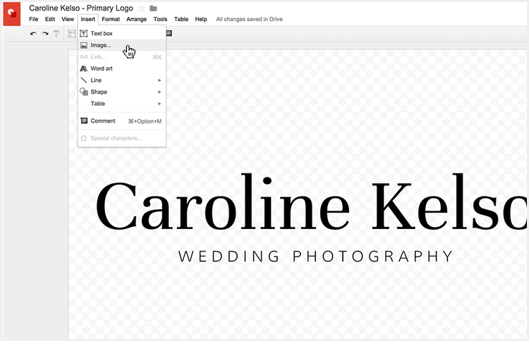 Adding an icon to your logo without Photoshop