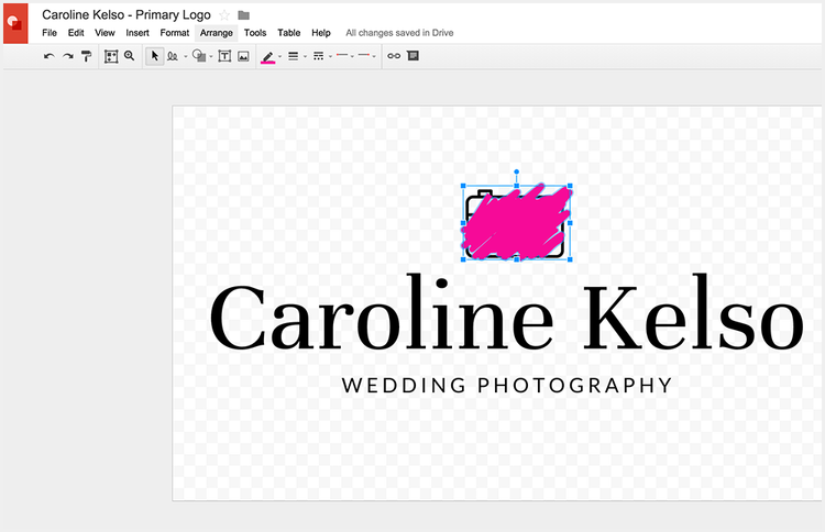 Choosing the colors of your logo without Photoshop