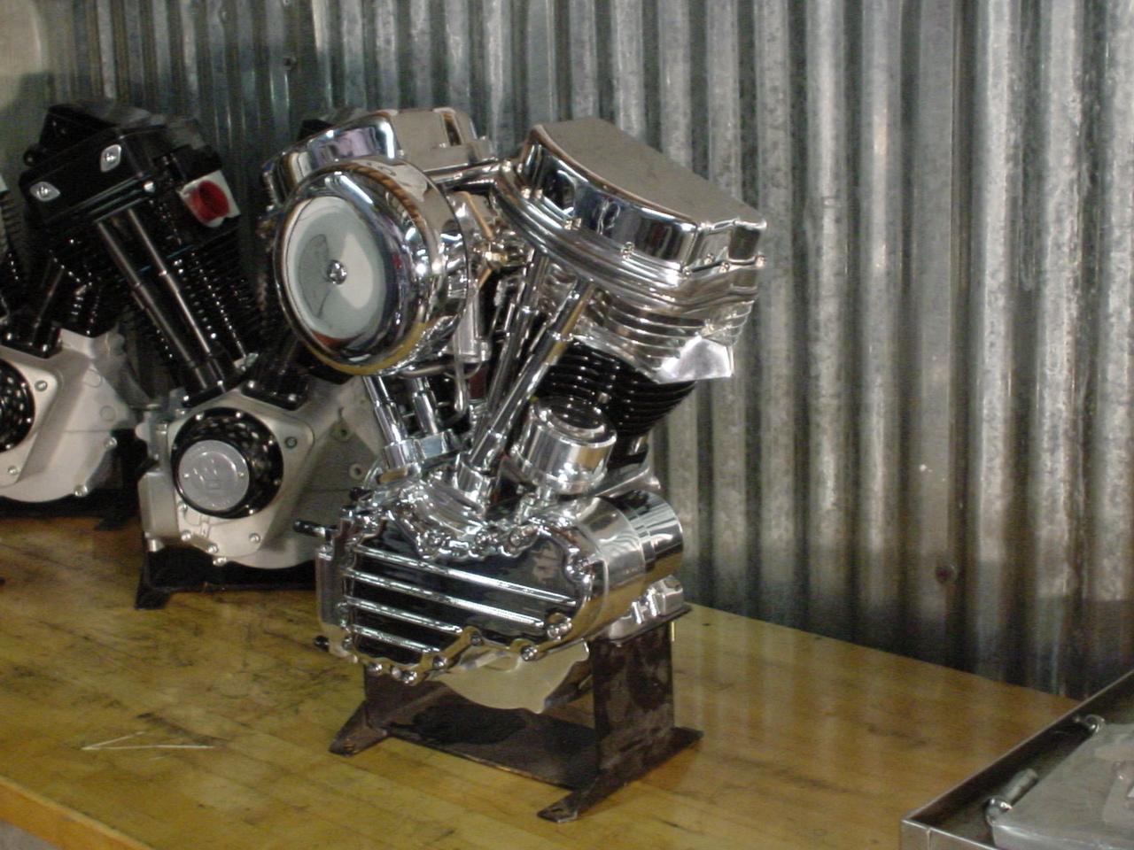 Accurate Engineering Panhead engine