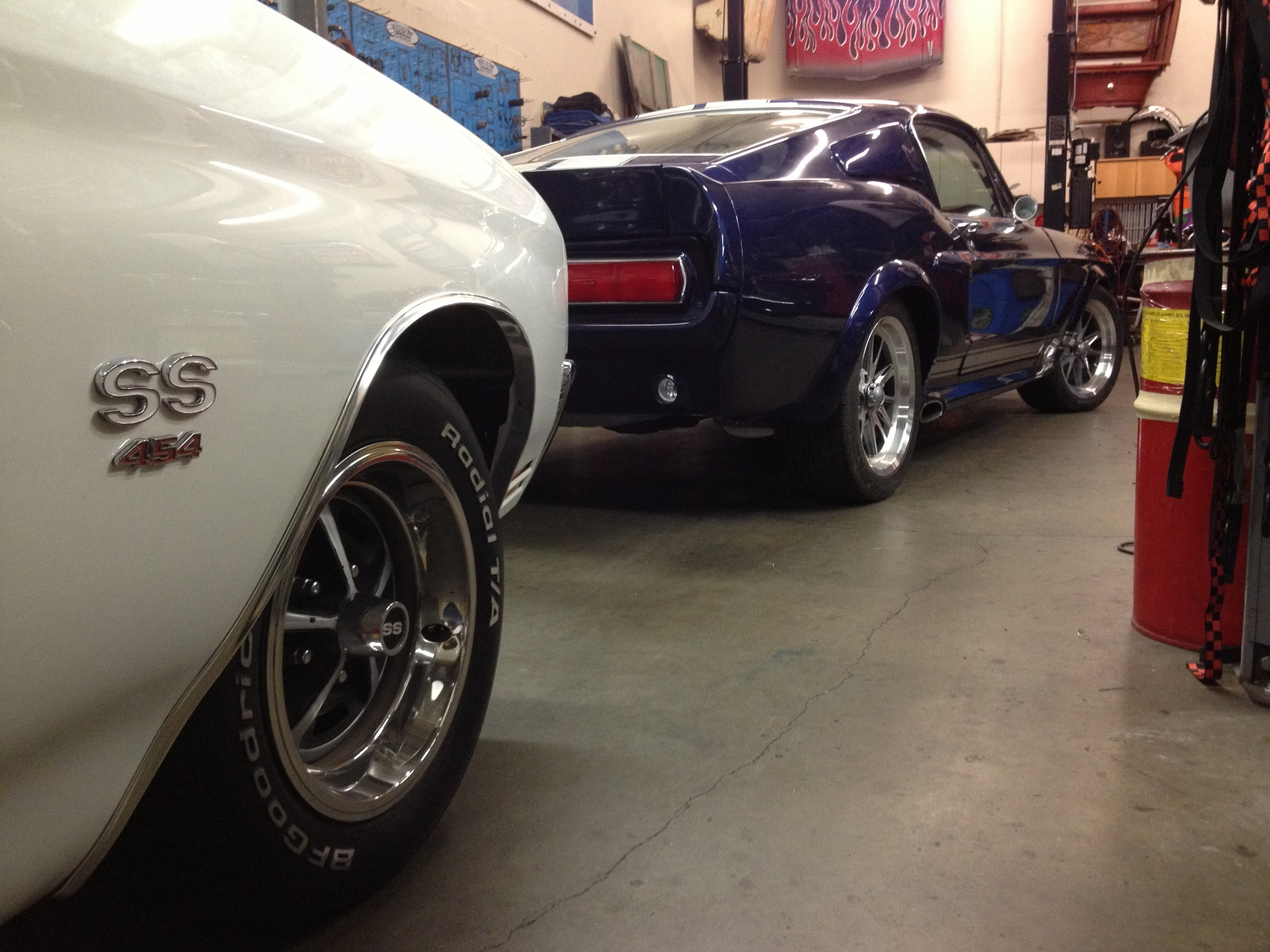 1968 Mustang Fastback Eleanor Tribute