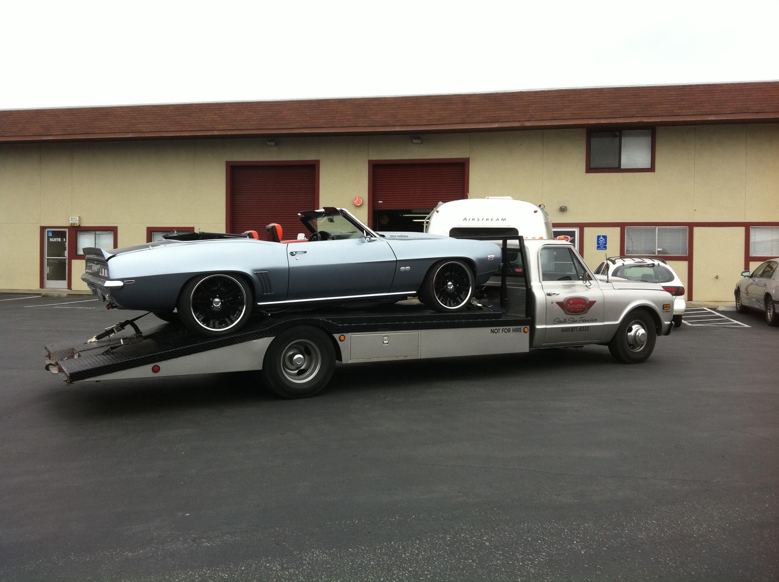 1972 KCM Chevy Ramp Truck