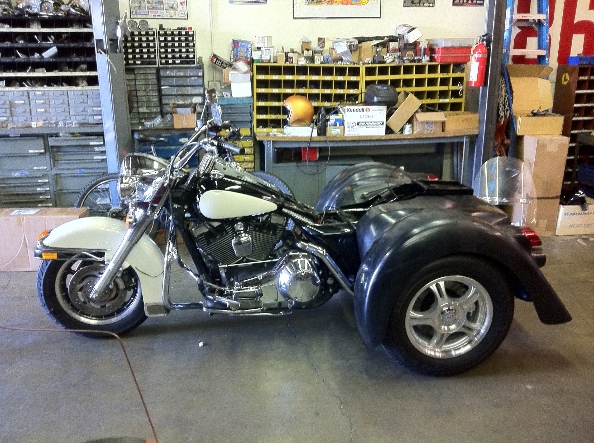 HD Roadking Trike Conversion