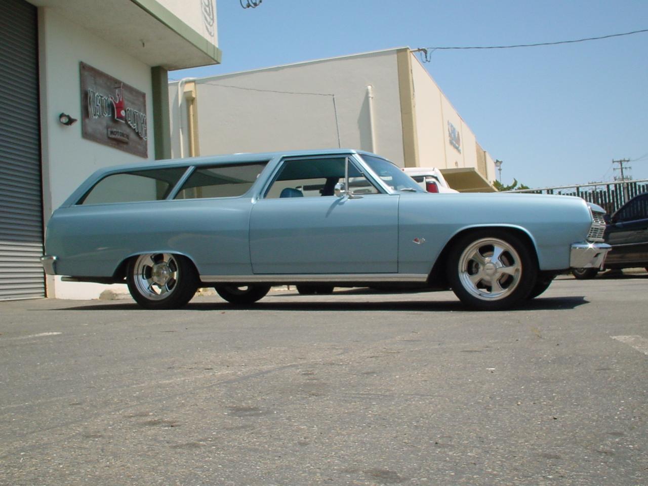 1965 Chevy Chevelle 2 Door Wagon