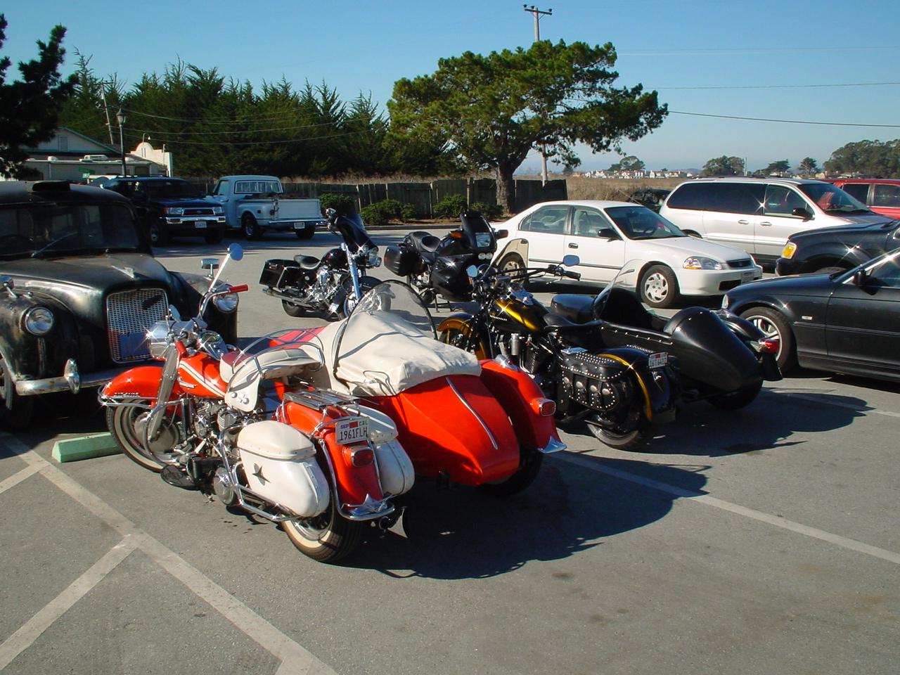Panhead w/Sidecar, KCM American Classic