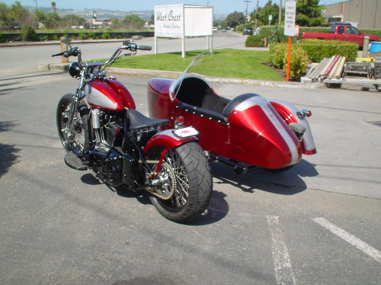 KCM American Classic w/Sidecar
