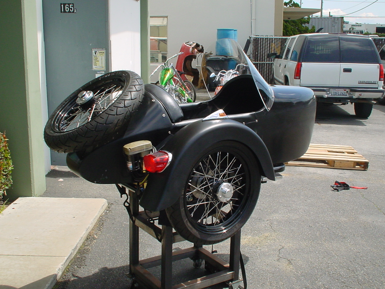 KCM Optional Sidecar
