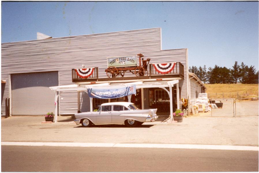 1957 Bel Air 4 Door ProStreet