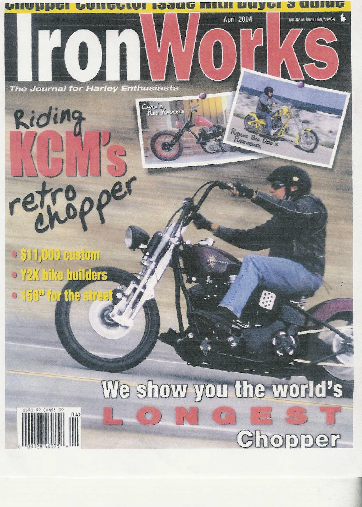 KCM Chop Chop Magazine Cover