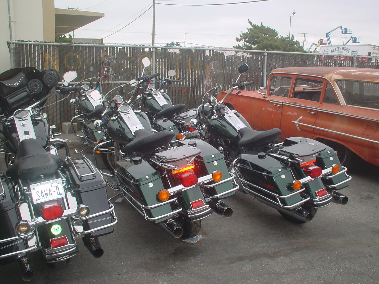 HD Roadking Police Fleet Sales