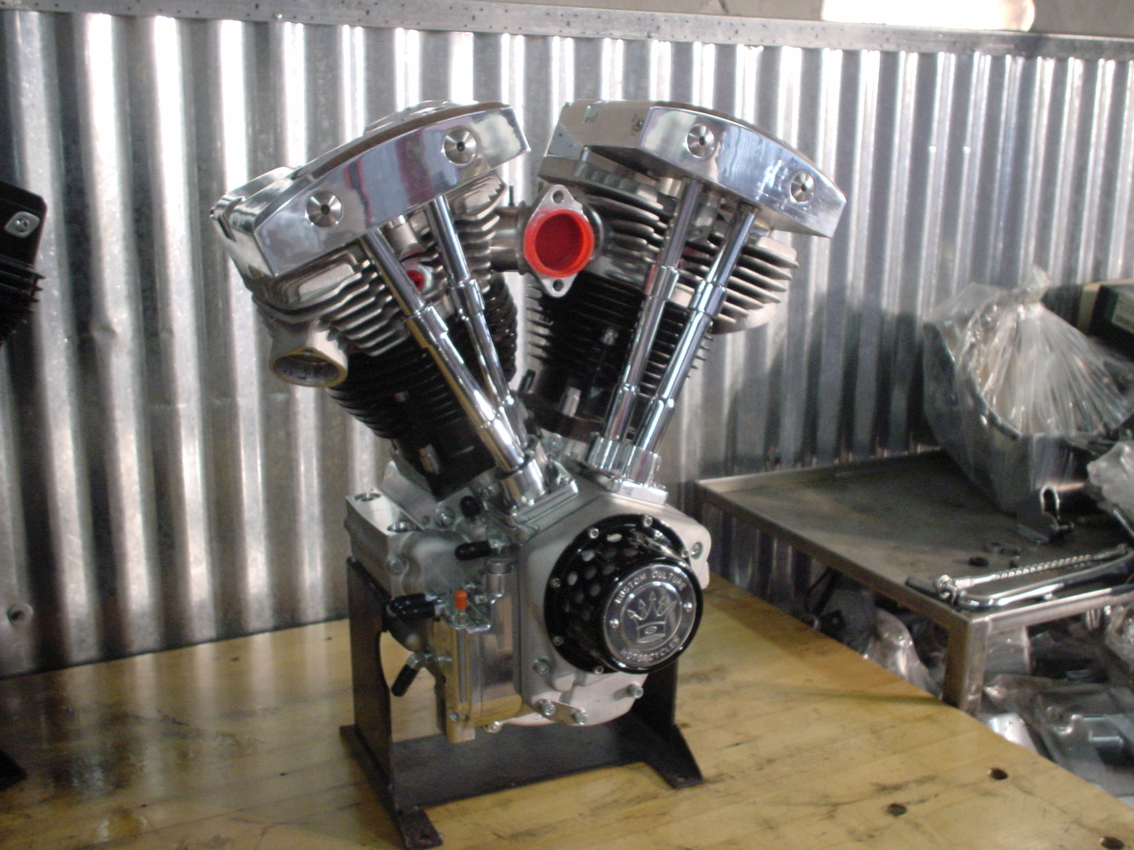 S&S High Output Shovelhead Engine