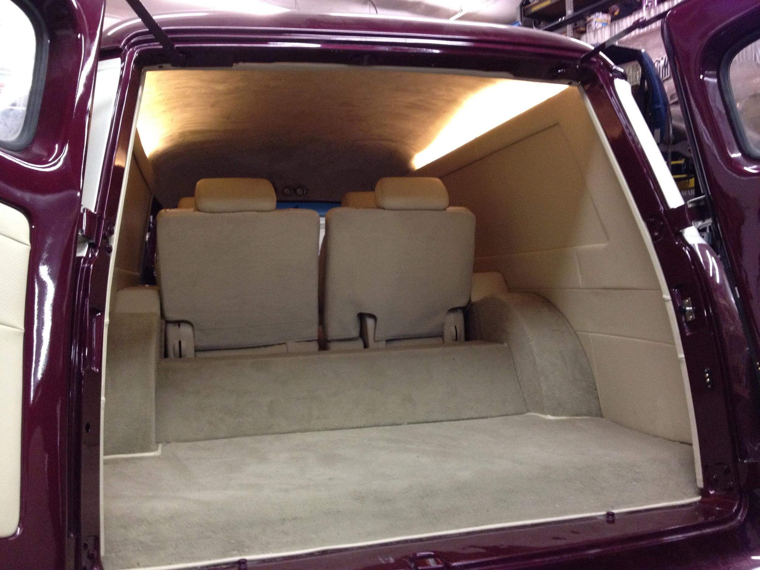 1958 Chevy Panel Interior