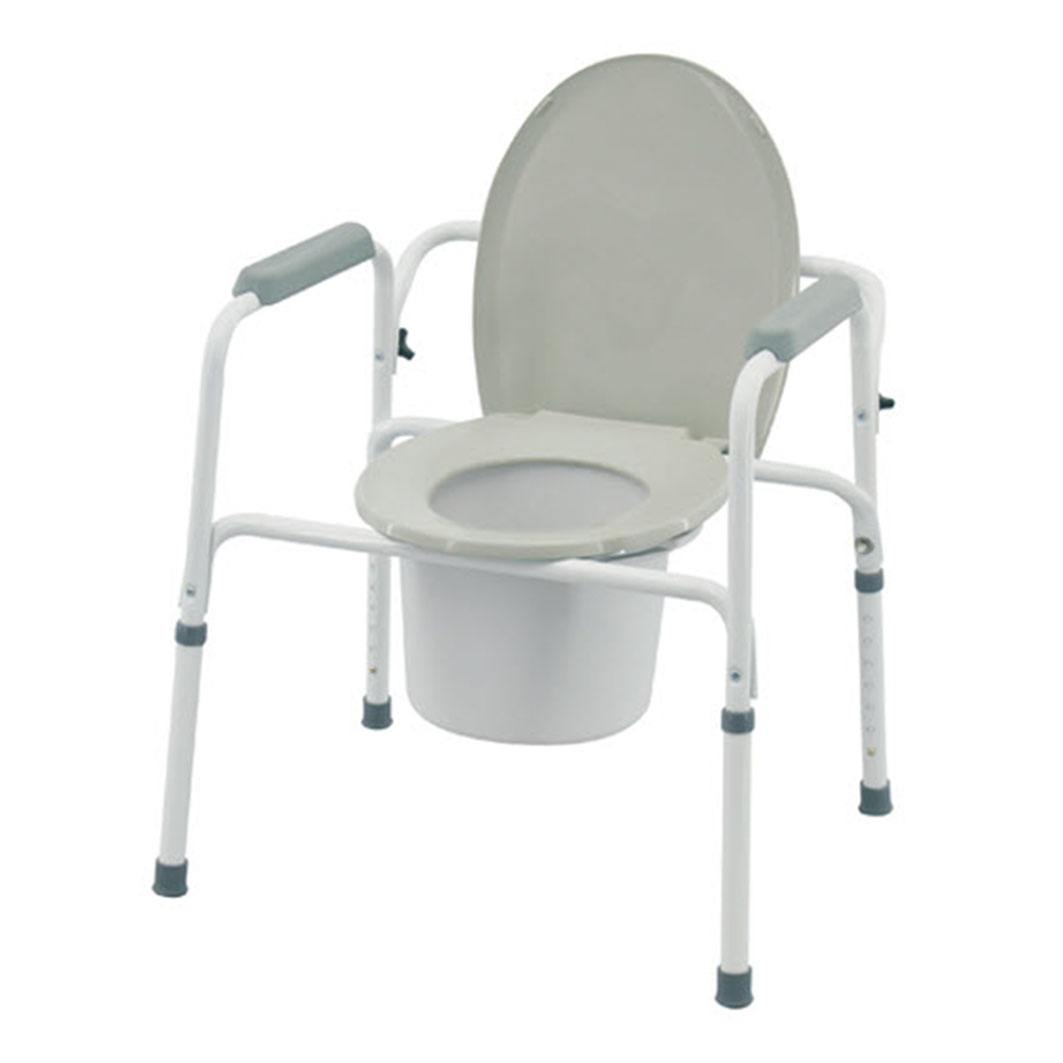 3 in 1 Commode - Everything needed for an accessible bathroom experienceVisit the store to learn more →