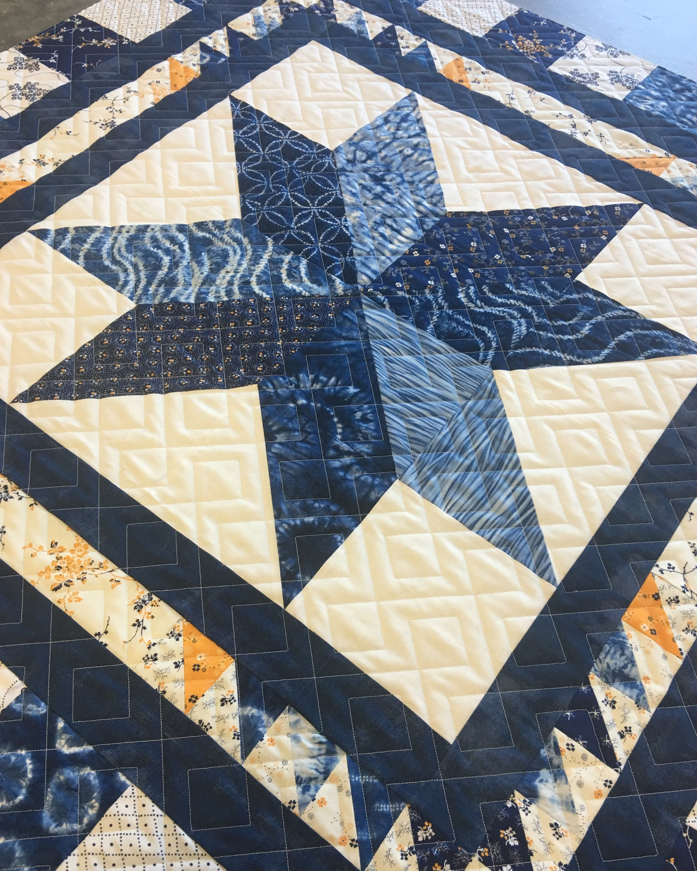 Quilting Design: Two Simple