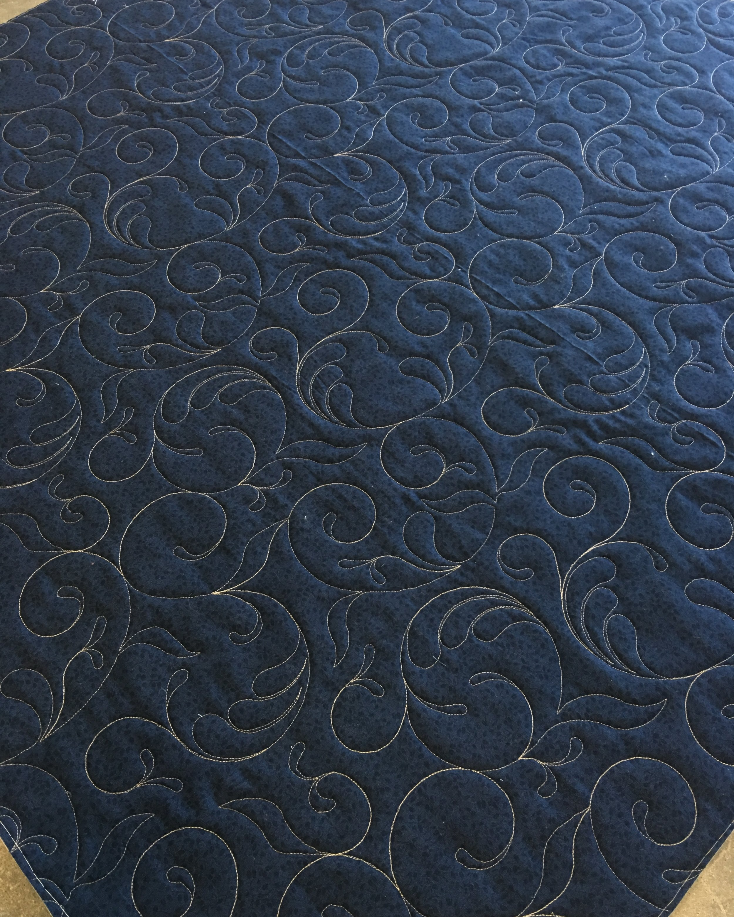 Quilting Design: Swirling