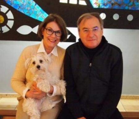 Esha and her doting dog parents