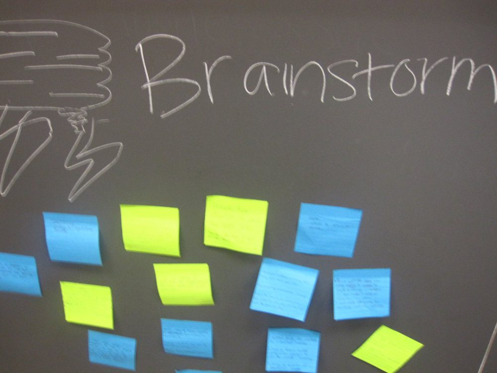 Students Brainstorm Solutions for Their Social Change Projects