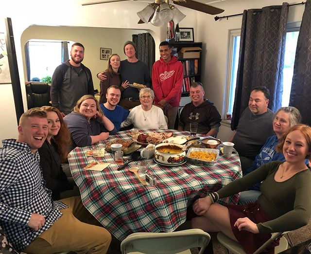My first Thanksgiving at my house! I love these people. I couldn't be more thankful for such an awesome family! #thankful #thanksgiving