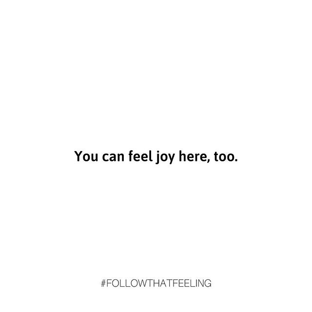 """Why do we stop ourselves from feeling joy when things are in flux (aka all the time)? Why do we feel undeserving of these feelings when we are struggling? Why are they contractual - you can't have one if you have the other? .  Returning 'home' after weeks away, I find myself stopping feelings of joy and contentment because things are not """"perfect"""" - things are not """"figured out"""", things are not """"the way I want them to be."""" But here's the thing...Why can't I also feel happiness while on the search for more? Why can't I allow peace to come while going through a struggle? Do you do this too? Why do we sign this unspoken contract where we can only feel joy when we have everything we long for? The small victory is that we notice this thought pattern- you can (and you must) feel joy even here, it's true."""
