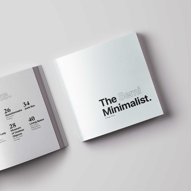 The Semi Minimalist - Page Design