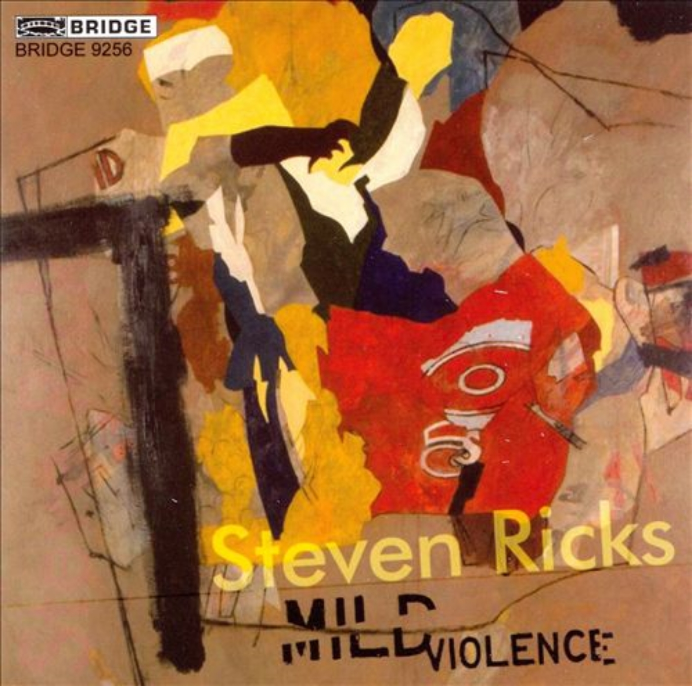 Mild Violence - My FIRST CD release, Mild Violence was a memorable milestone for me. This disc includes some great performances by musicians and friends I really admire, who have helped (and continue to help) me on my way, including flutist Carlton Vickers, the New York New Music Ensemble, violinist Curtis Macomber, saxophonist John Sampen, Talujon Percussion, and Talujon co-founder Dominic Donato.