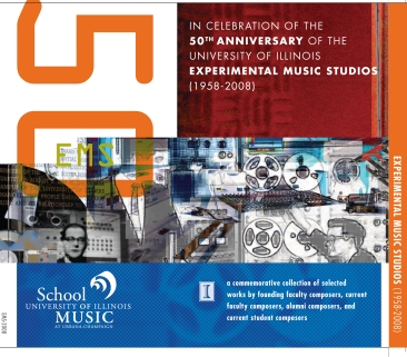 50th Anniversary of the University of Illinois EMS (1958 - 2008) - My short work Young American Inventions Redux is included in this collection. I was invited to participate as an alum of the U of I (MM, '95) and former composer in the UIUC EMS.