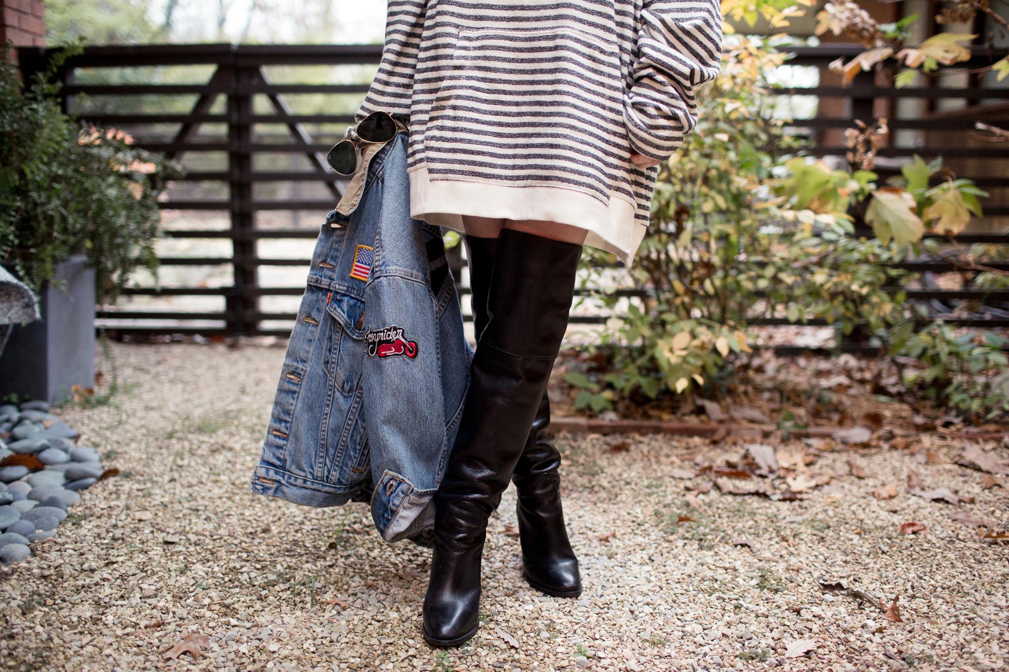 Eldridge Edit-Anna_Cottrell_Fashion_Blogger_Winter_2017_Jean_Denim_Jacket_Patches_Striped_Oversized_Hoodie_Ralph_Lauren_Black_Over_the_Knee_OTK_Boots_MGB_Photo_6.jpg