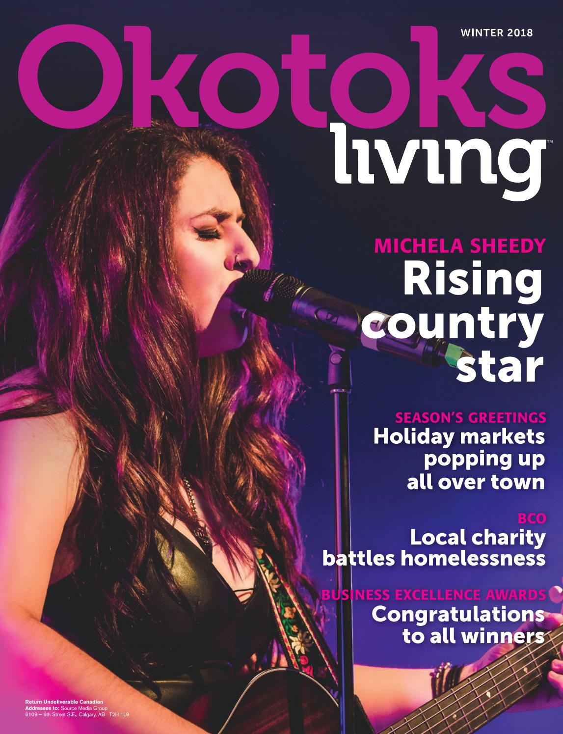 Okotoks Living - Winter 2018 Issue