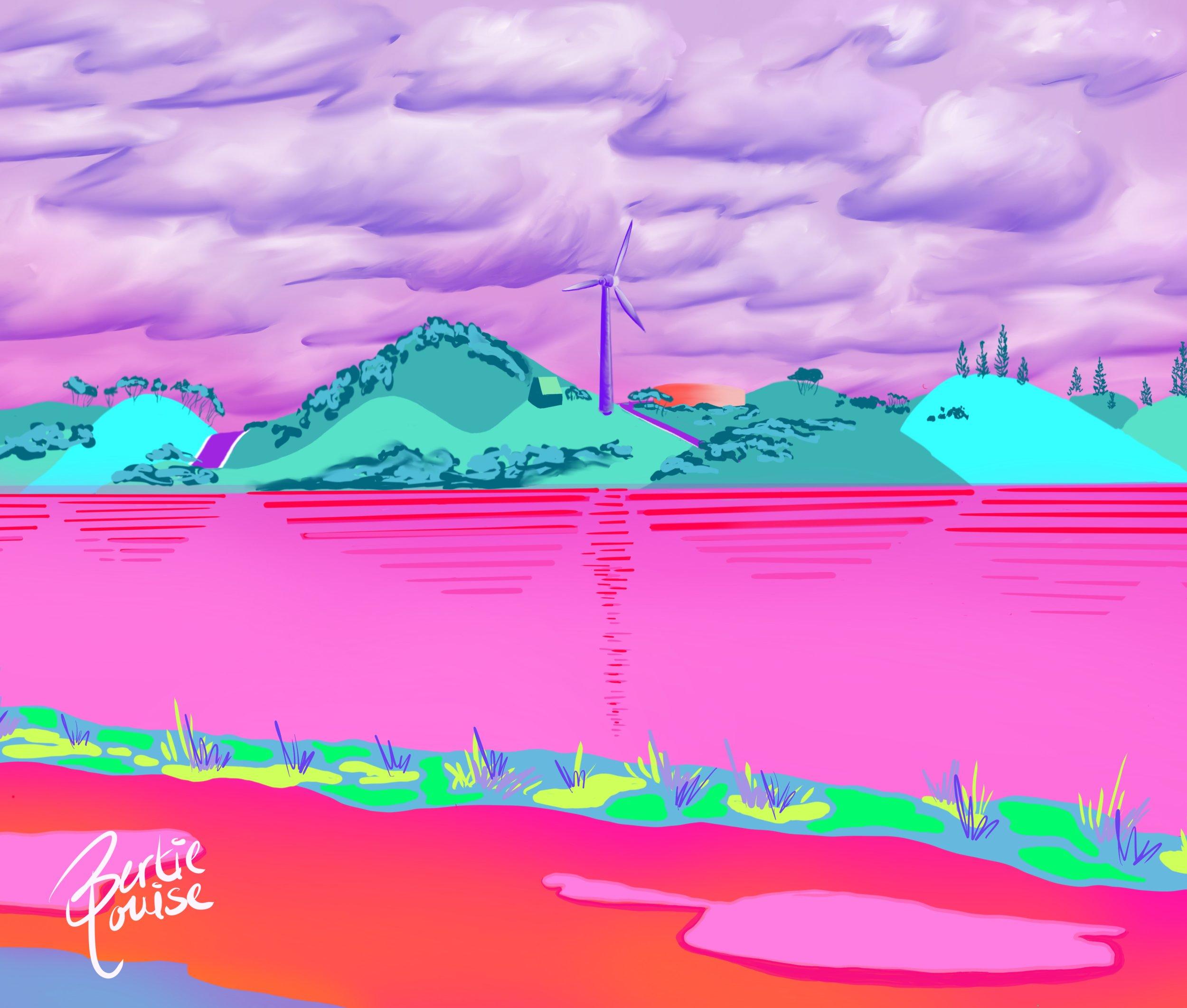 Pink Lake