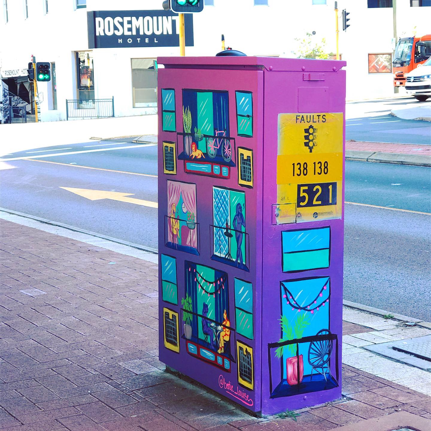 Electrical box for Pride week