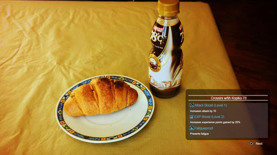 Crossini chocolate stuffed croissant with Kopiko 78 bottled coffee