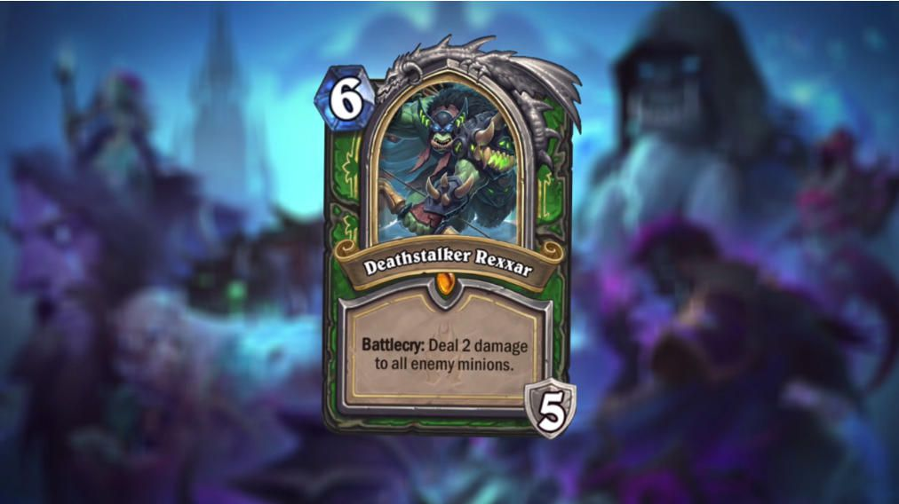 This is one of the Hero Cards, a new card type that will be introduced in Knights of the Frozen Throne.