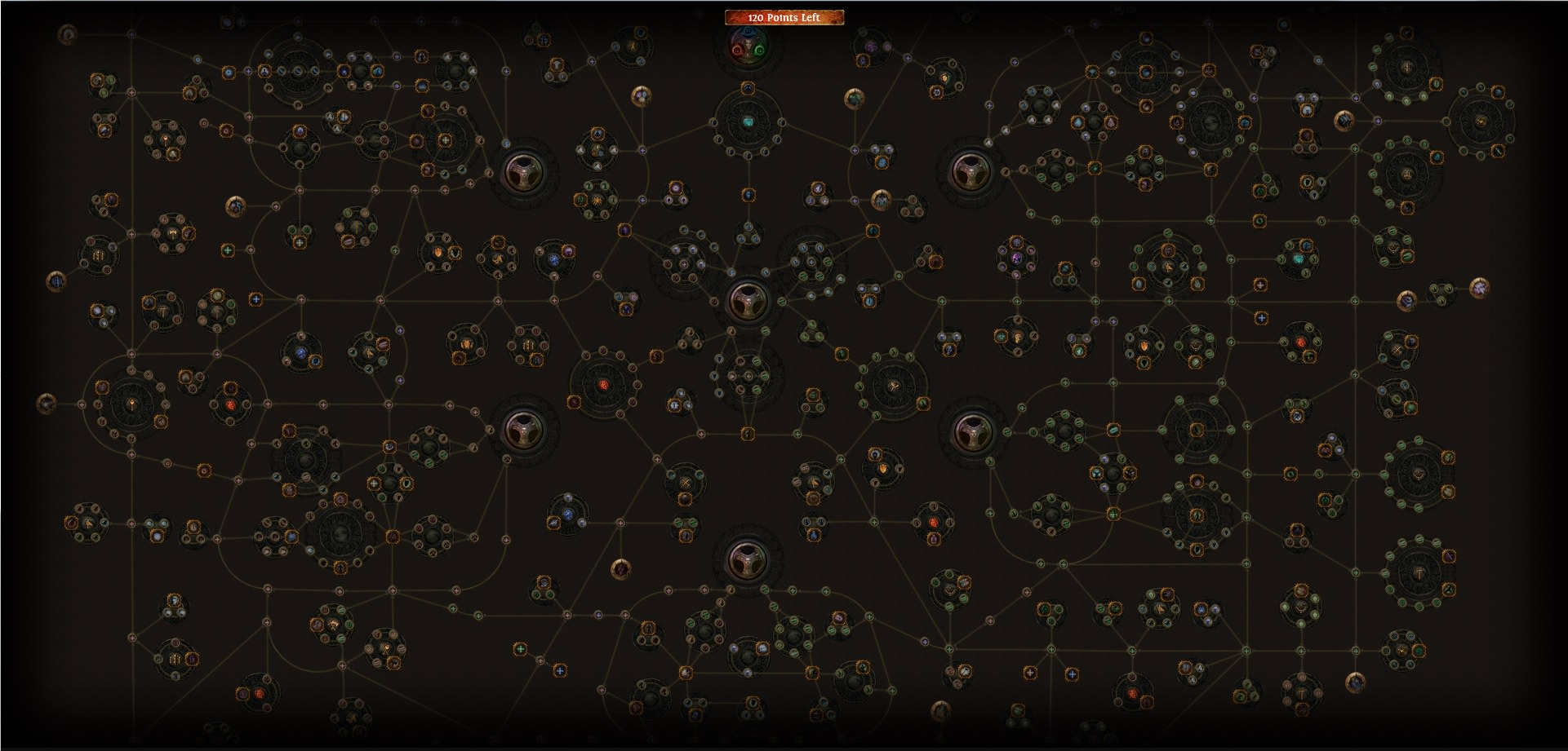 The ever-evolving  Path of Exile  Passive Tree