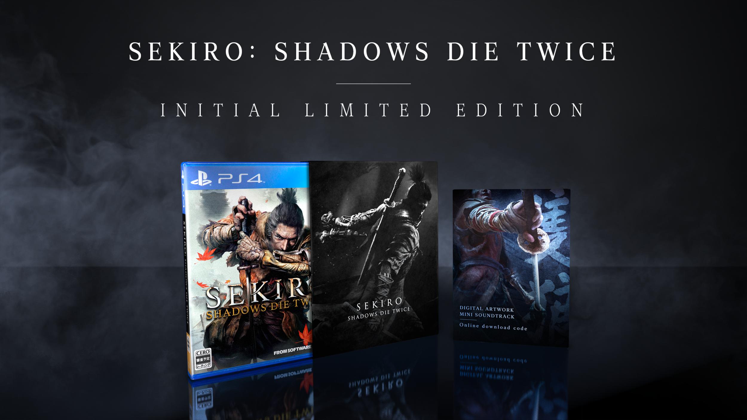 Pre-order Sekiro: Shadows Die Twice on PSN earns you a PS4 theme as a bonus.