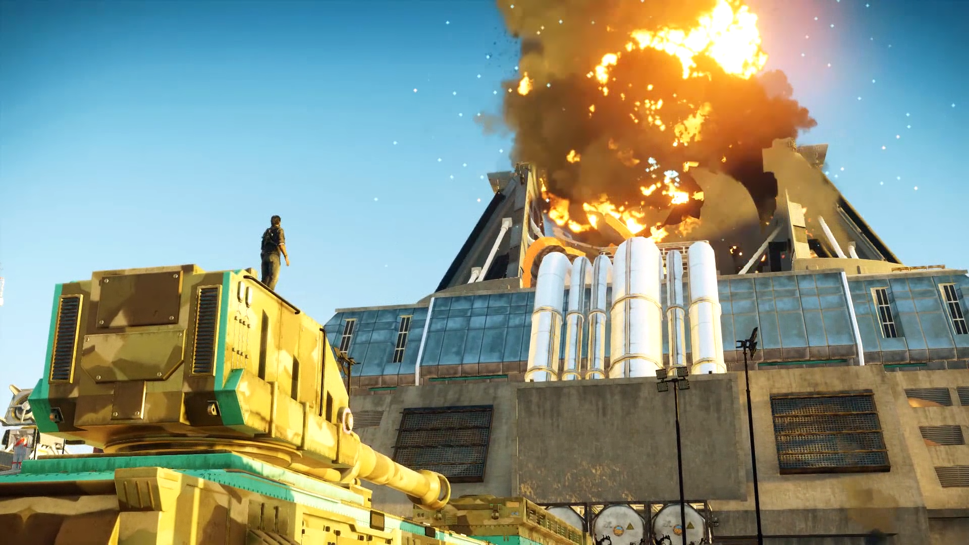 Just Cause 4 Explosions.