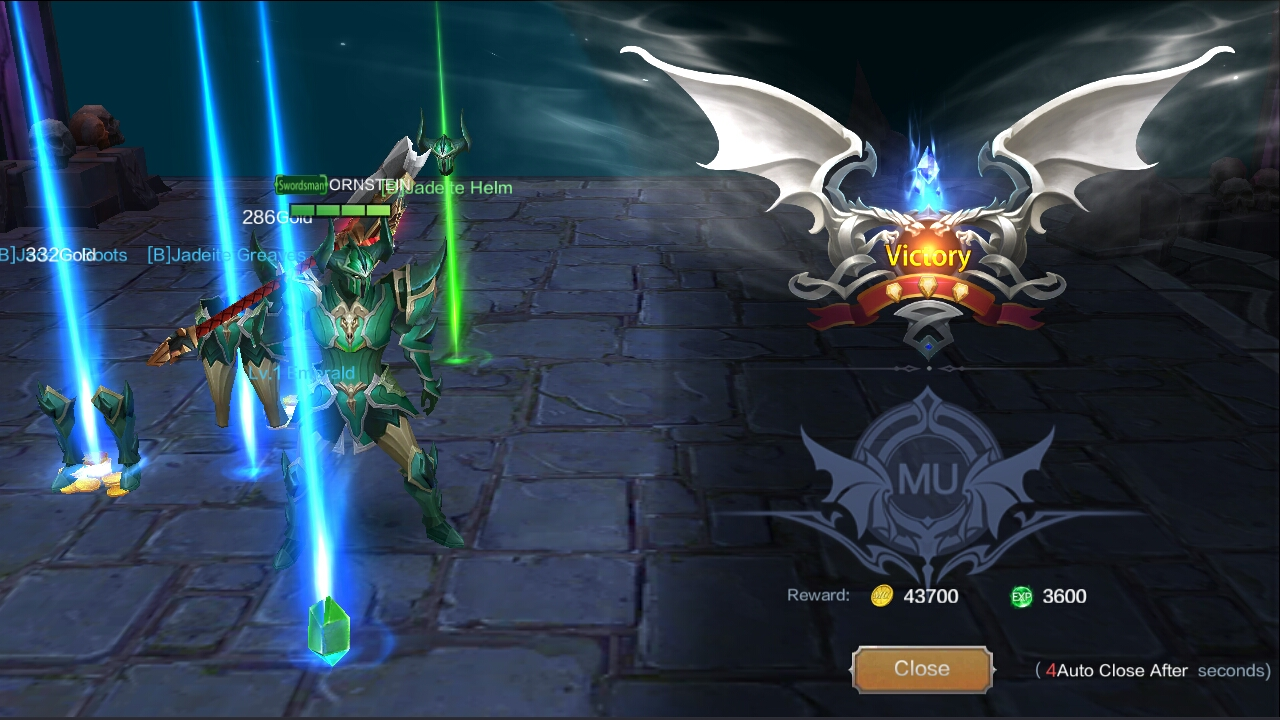 Mu Online 2 dungeons.