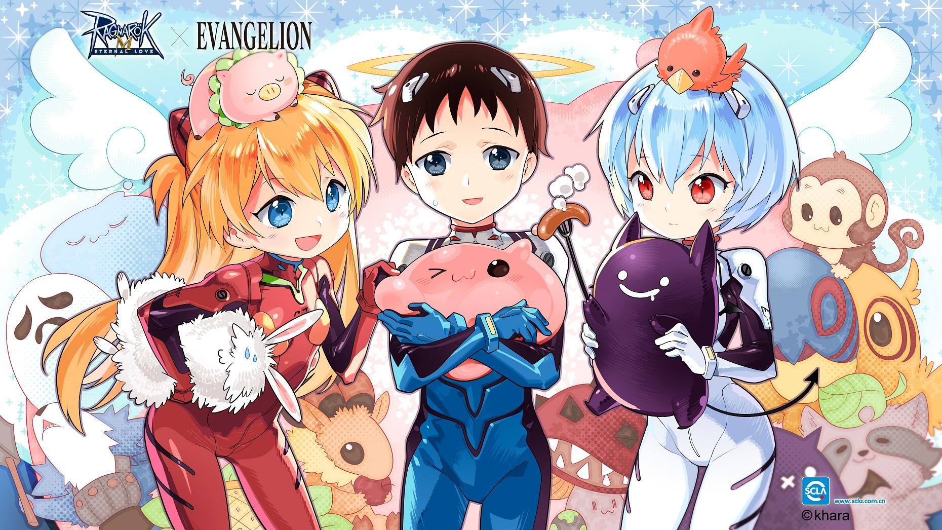 Ragnarok M x Evangelion Group.jpg