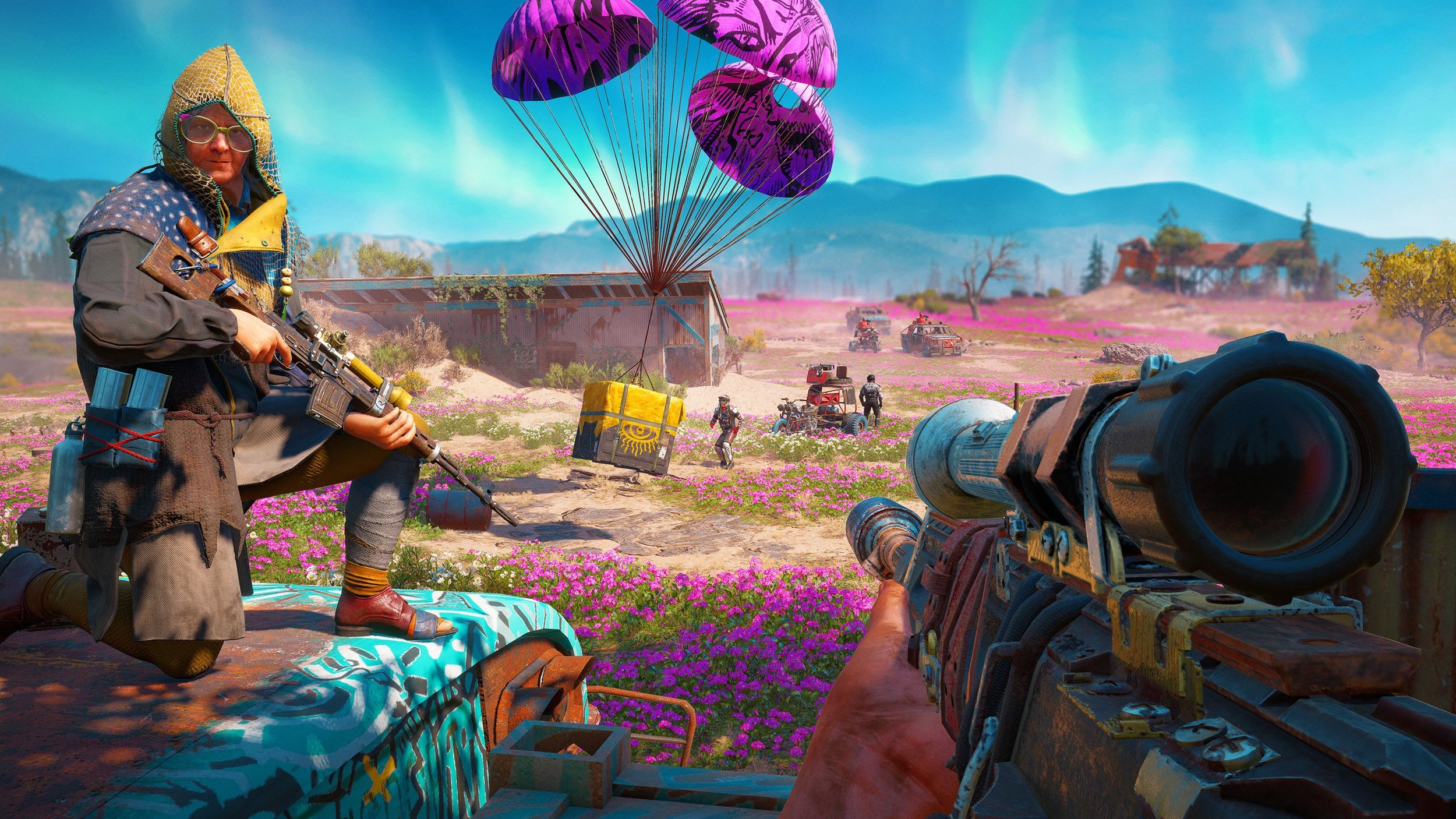 Far Cry: New Dawn, the latest entry in the franchise is now available on PS4, Xbox One, and PC.
