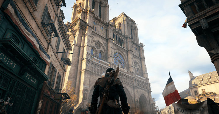 How Assassin's Creed: Unity And Ubisoft Are Helping Out With Notre