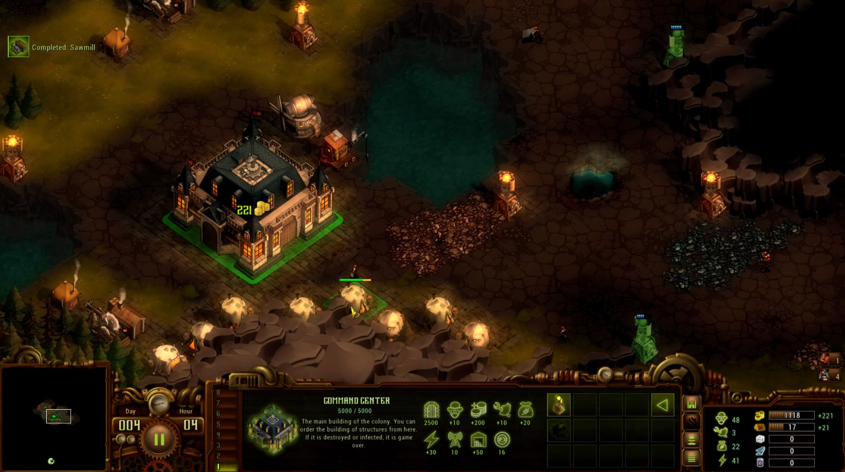 They are Billions PS4 RTS gameplay