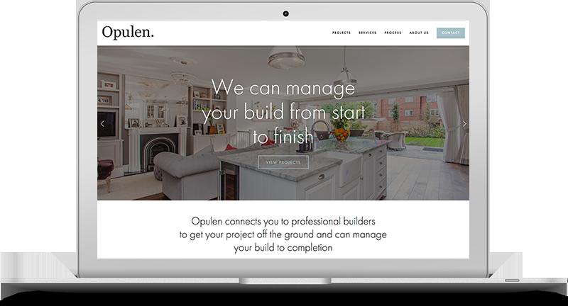 Opulen Pro website