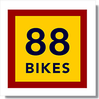 88 Bikes Logo